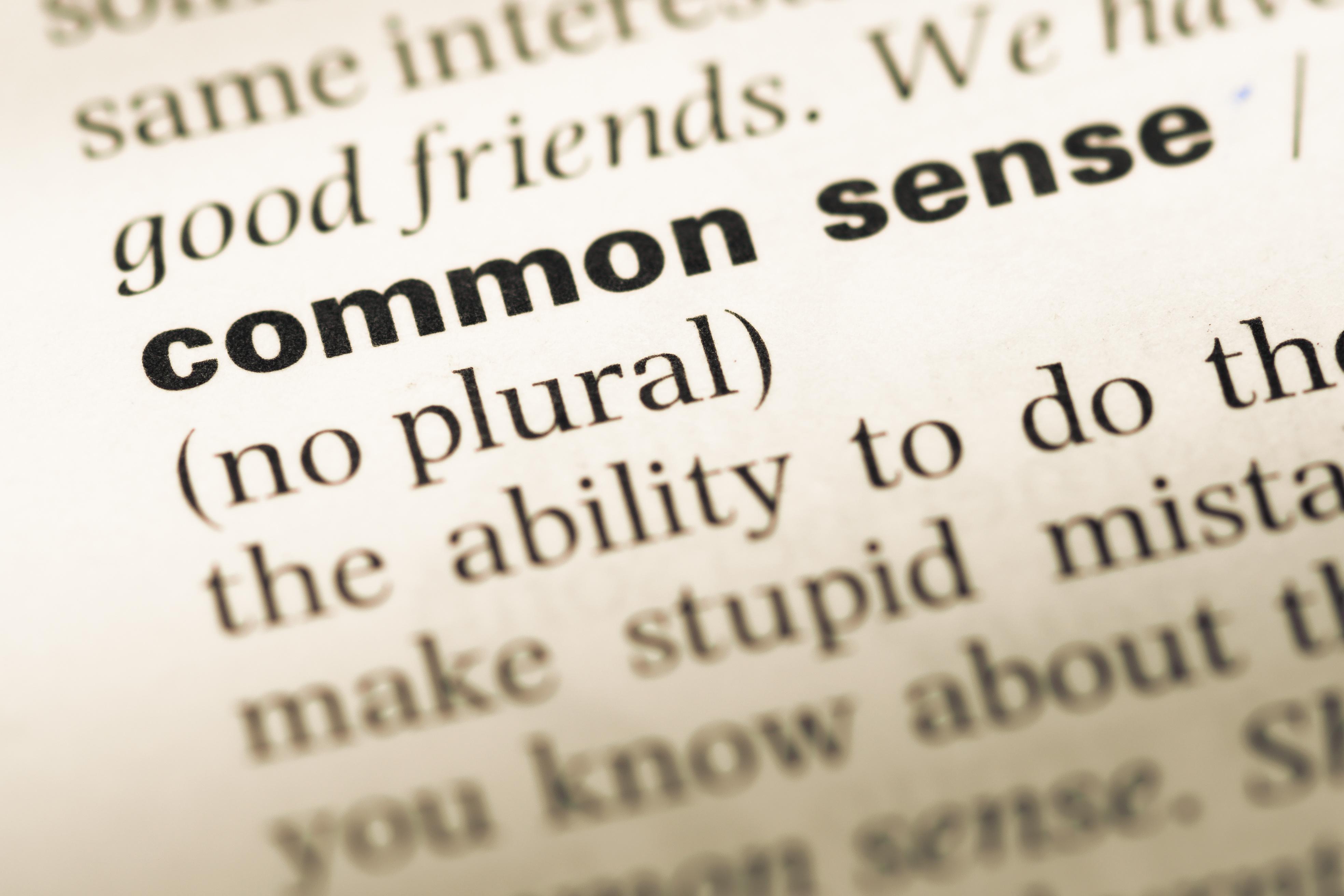 Common Sense